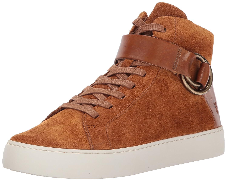 FRYE Women's Lena Harness High Fashion Sneaker B01MRZTT9P 11 M US|Nutmeg Soft Oiled Suede