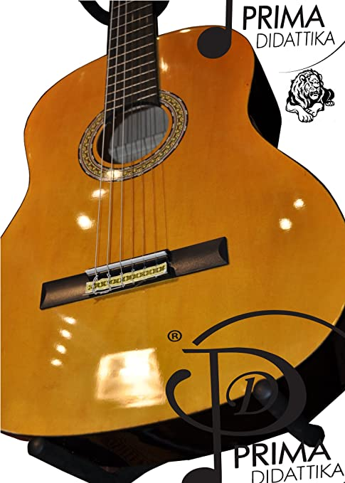 Guitarra Clásica 4/4 prima didattika CG 08 C: Amazon.es ...