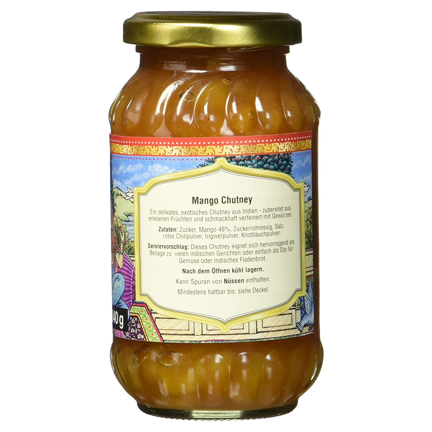 Truly Indian Mango Chutney, original, 340 g: Amazon.de: Amazon Pantry