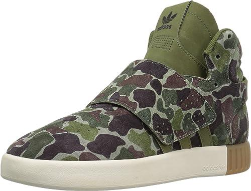 taniej najlepsza obsługa dobra sprzedaż Adidas ORIGINALS Kids' Tubular Invader Strap J Sneaker ...
