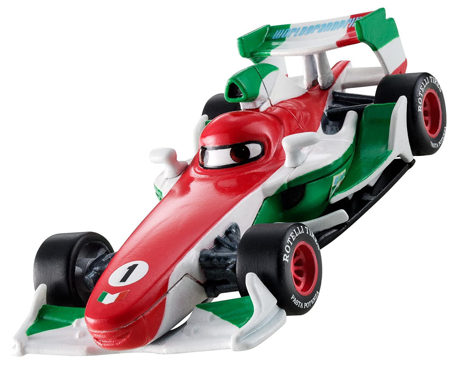 Amazon.com  Disney Pixar Cars 2 Color Changers Francesco Bernoulli Vehicle   Toys   Games 05c225d60377