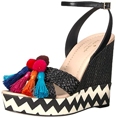 fc0fa2a69847 Amazon.com  Kate Spade New York Women s Delancey Wedge Sandal  Shoes