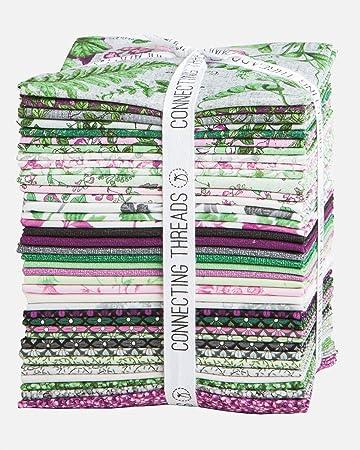 per pack Art Gallery Fabrics Designers Palette Fabric Box Fat Quarters B-D...