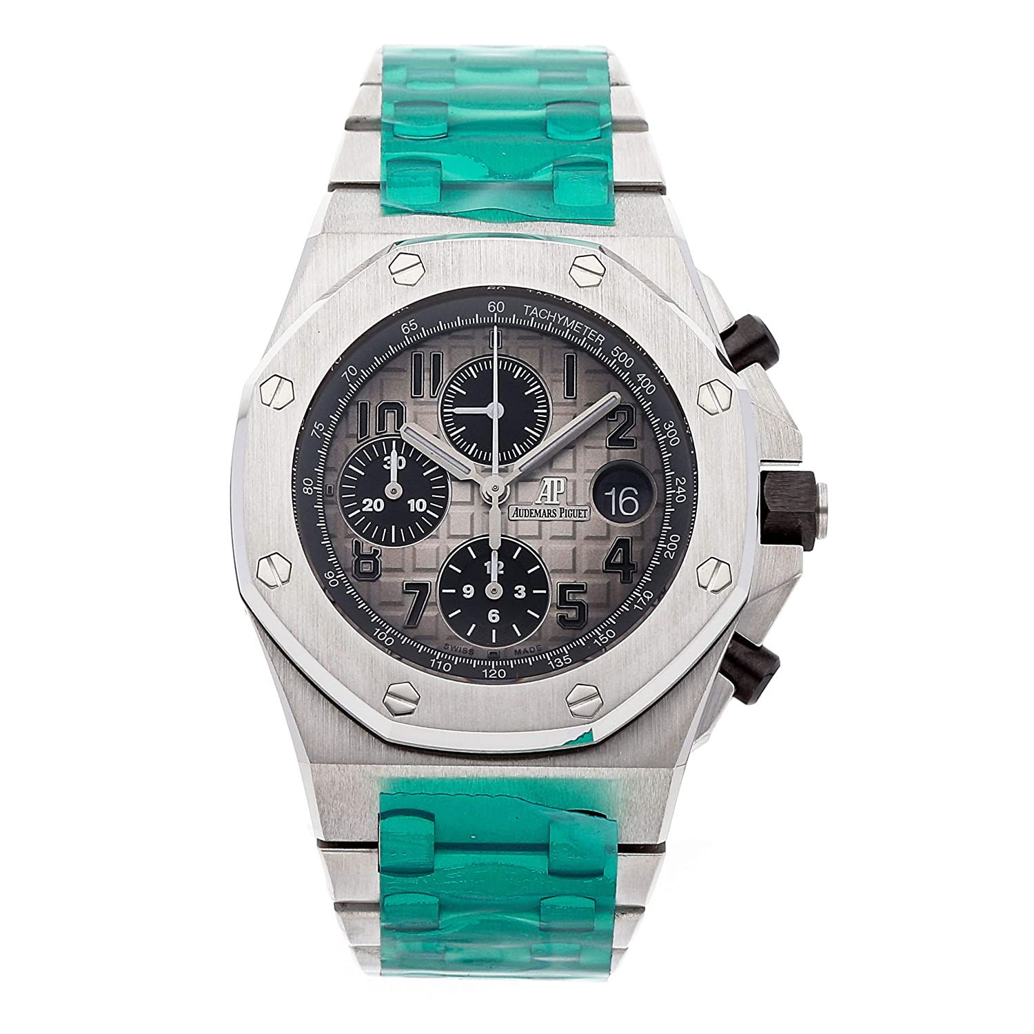 Audemars Piguet Royal Oak Offshore Mechanical (Automatic) Grey Dial Mens Watch 26470PT.OO.1000PT.01 (Certified Pre-Owned)