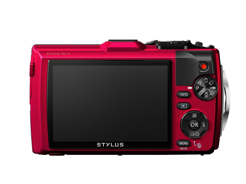 Amazon.com : Olympus TG-4 16 MP Waterproof Digital Camera with 3 ...