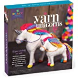 Craft-tastic Yarn Unicorns Kit - Craft Kit Makes 2 Yarn Wrapped Unicorns