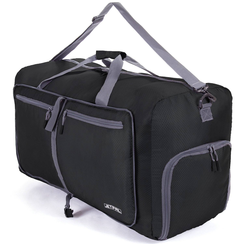 Amazon.com  JETPAL Spacious Foldable Duffel Bag - Choose Your Size  Sports    Outdoors 4cfbd0a1278ee