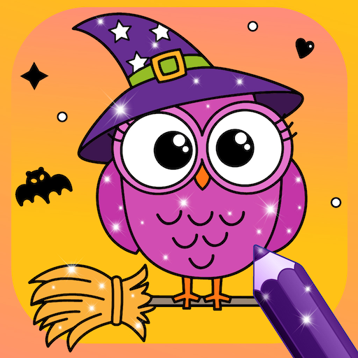 Halloween Colouring Pages Online (Glittery Coloring Halloween for)