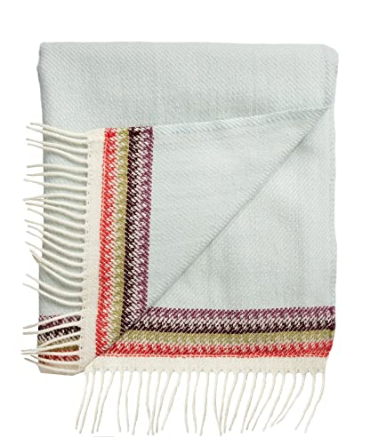 Amazoncom Roros Tweed Designer 100 Norwegian Wool Throw Blanket