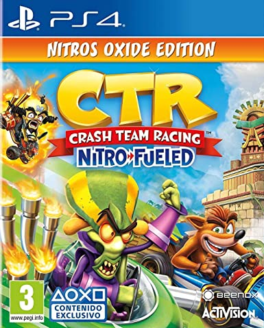 Crash Team Racing Nitro Fueled - Edición Nitros Oxide ...