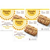 Simple Mills Almond Flour Snack Bars (Nutty Banana Bread) with Organic Coconut Oil, Chia Seeds, Sunflower Seeds, and Flax See