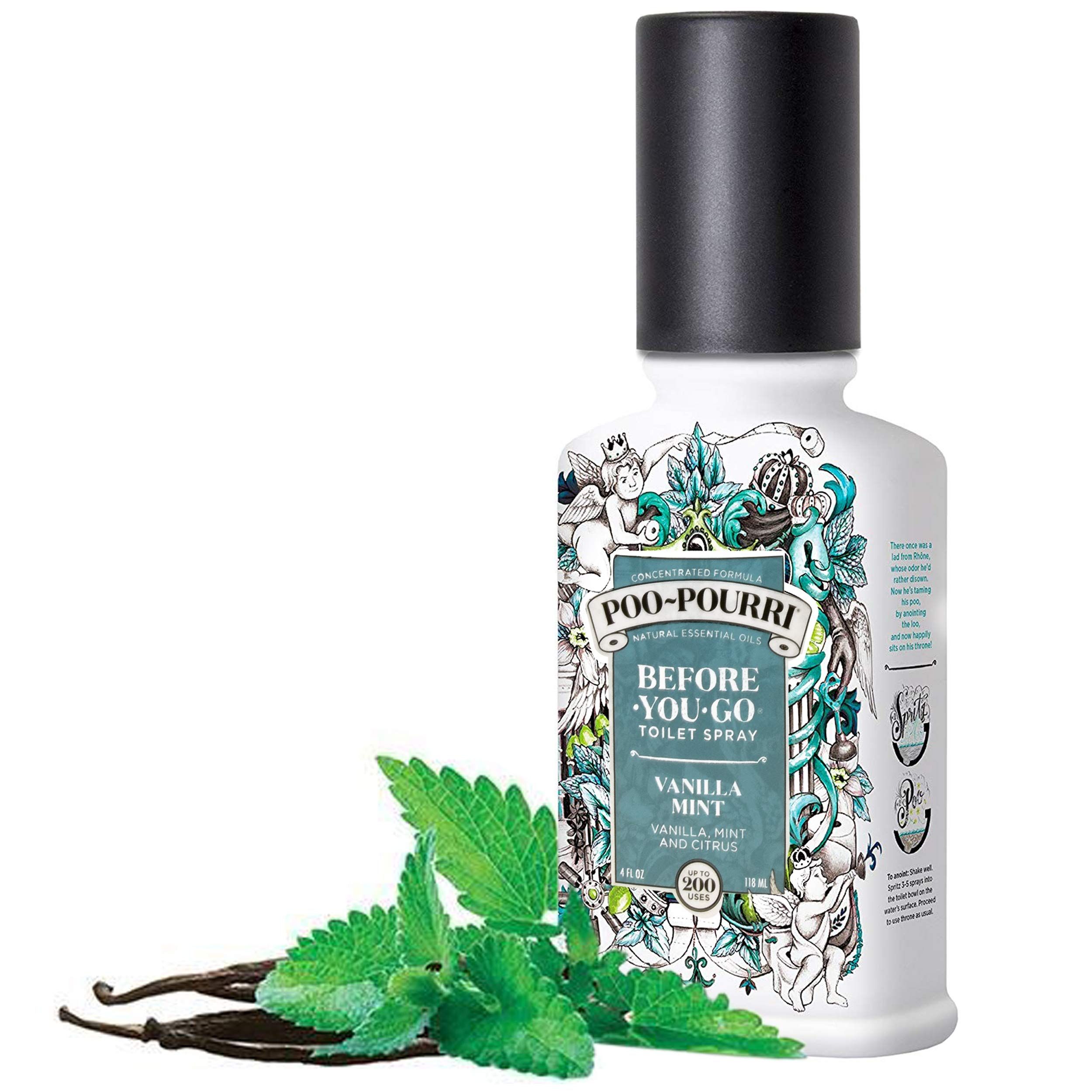 Poo-Pourri Lavender Vanilla, Tropical Hibiscus and Vanilla Mint 4-Ounce Set by Poo-Pourri (Image #4)