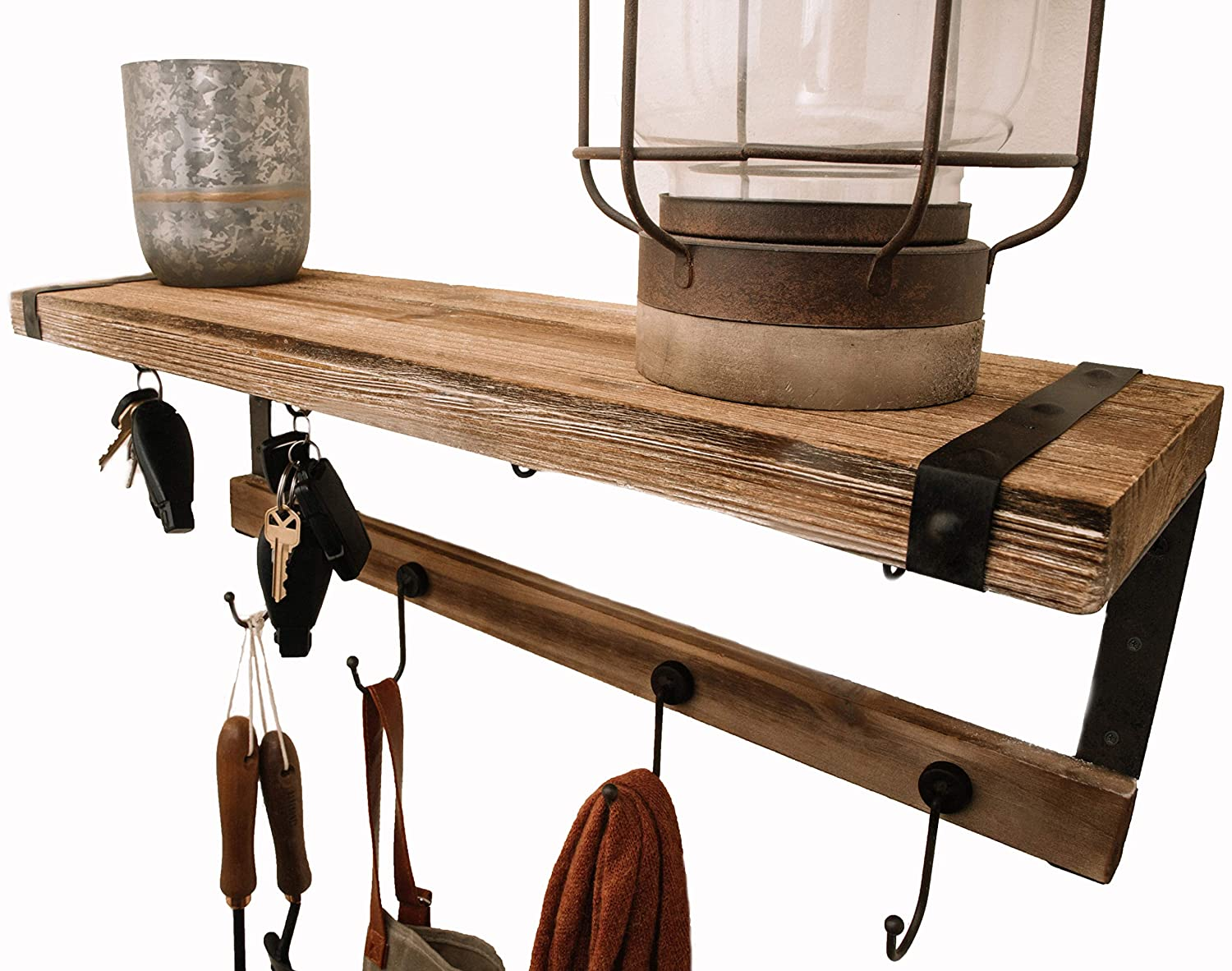 Premium Home Entryway Coat Rack Shelf : 24