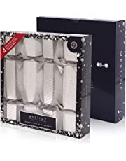 Mestige Jewellery Christmas Cracker 4-Pack - Silver