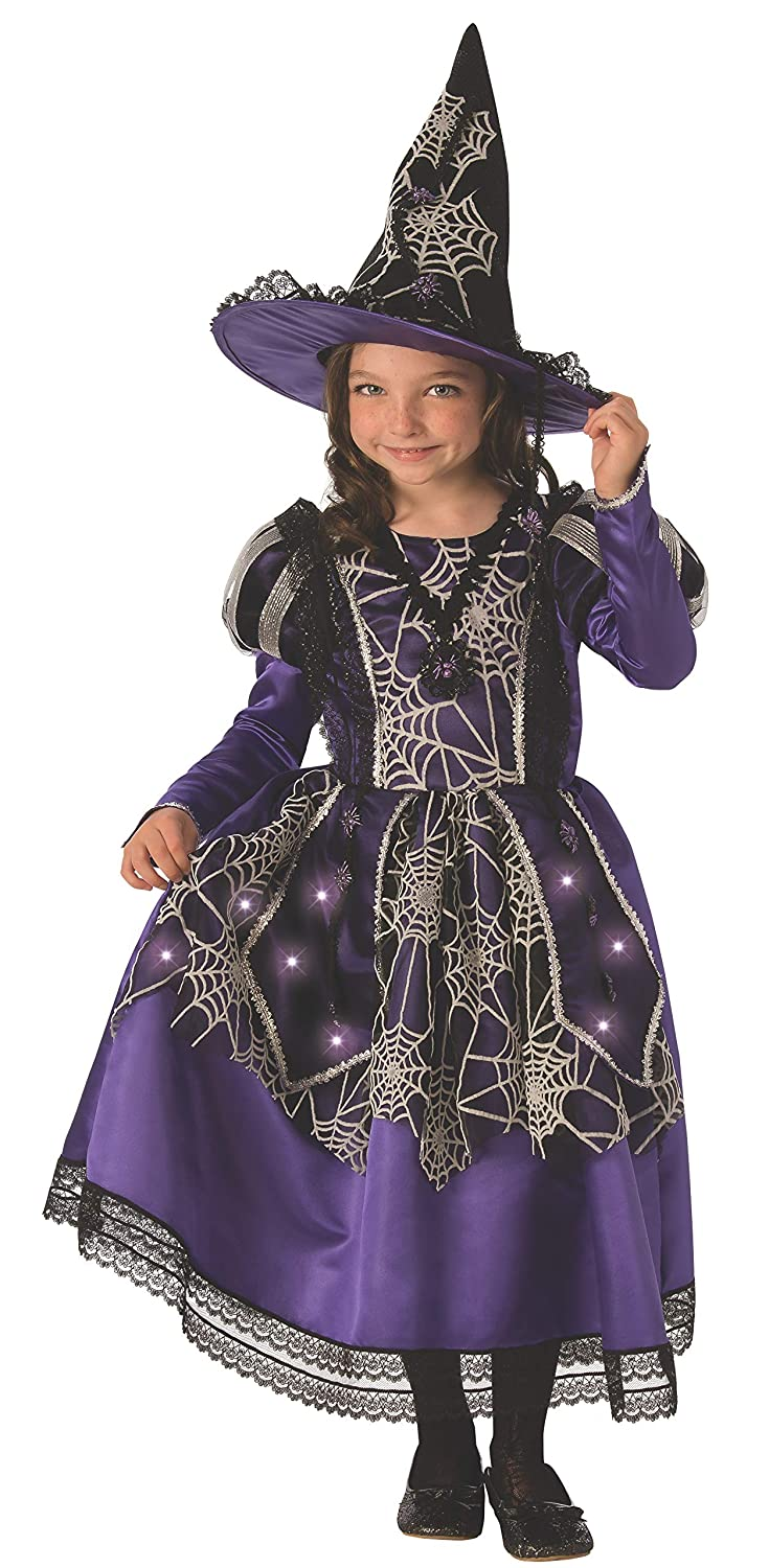 Medium Rubies Rubies Victorian Spider Witch Childs Costume Domestic 641099