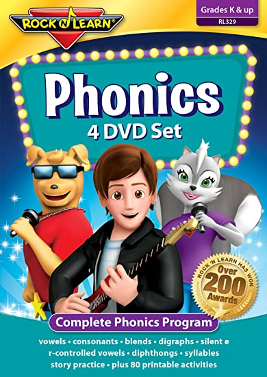 Workbook consonant trigraphs worksheets : Amazon.com: Phonics 4 DVD Set: Rock 'N Learn: Movies & TV
