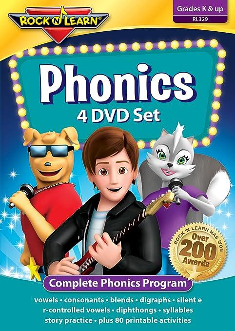 Amazon.com: Phonics 4 DVD Set: Rock 'N Learn: Movies & TV