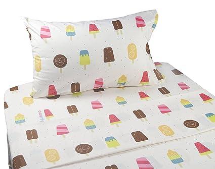 Charmant J Pinno Cute Cartoon Ice Cream Popsicle Printed Twin Sheet Set For Kids  Girl Children