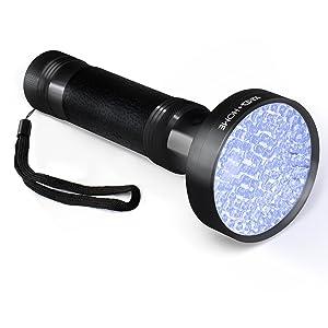 Ultra Bright UV Blacklight Pet Urine Detector 100 LED Handheld Flashlight