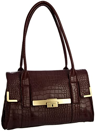 0892d75c6472 Fiorelli Women s Fh5860 Dorchester Shoulder Bag Oxblood Croc  Amazon ...