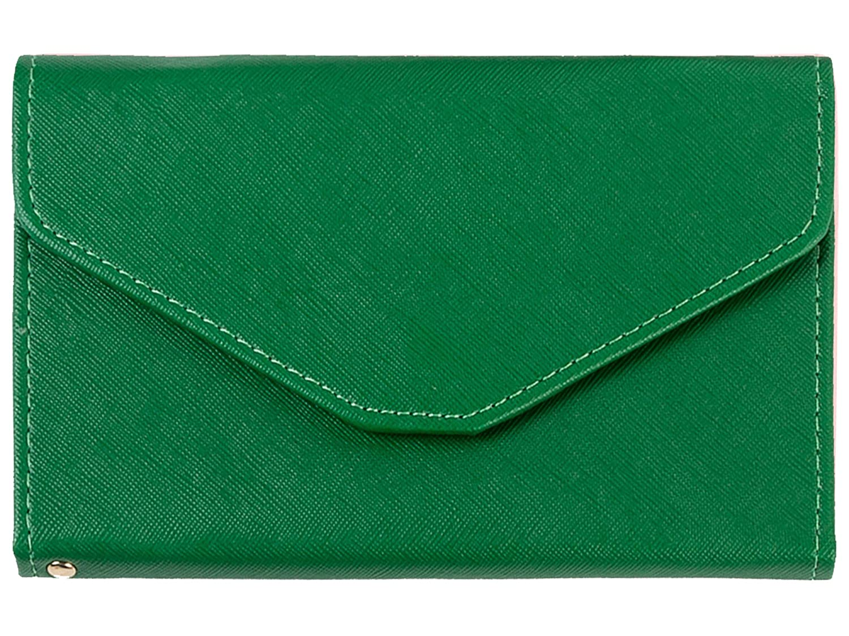 MODARANI Women's Ticket Passport Document Organizer Waterproof Versatile Tri-fold Wallet Blue