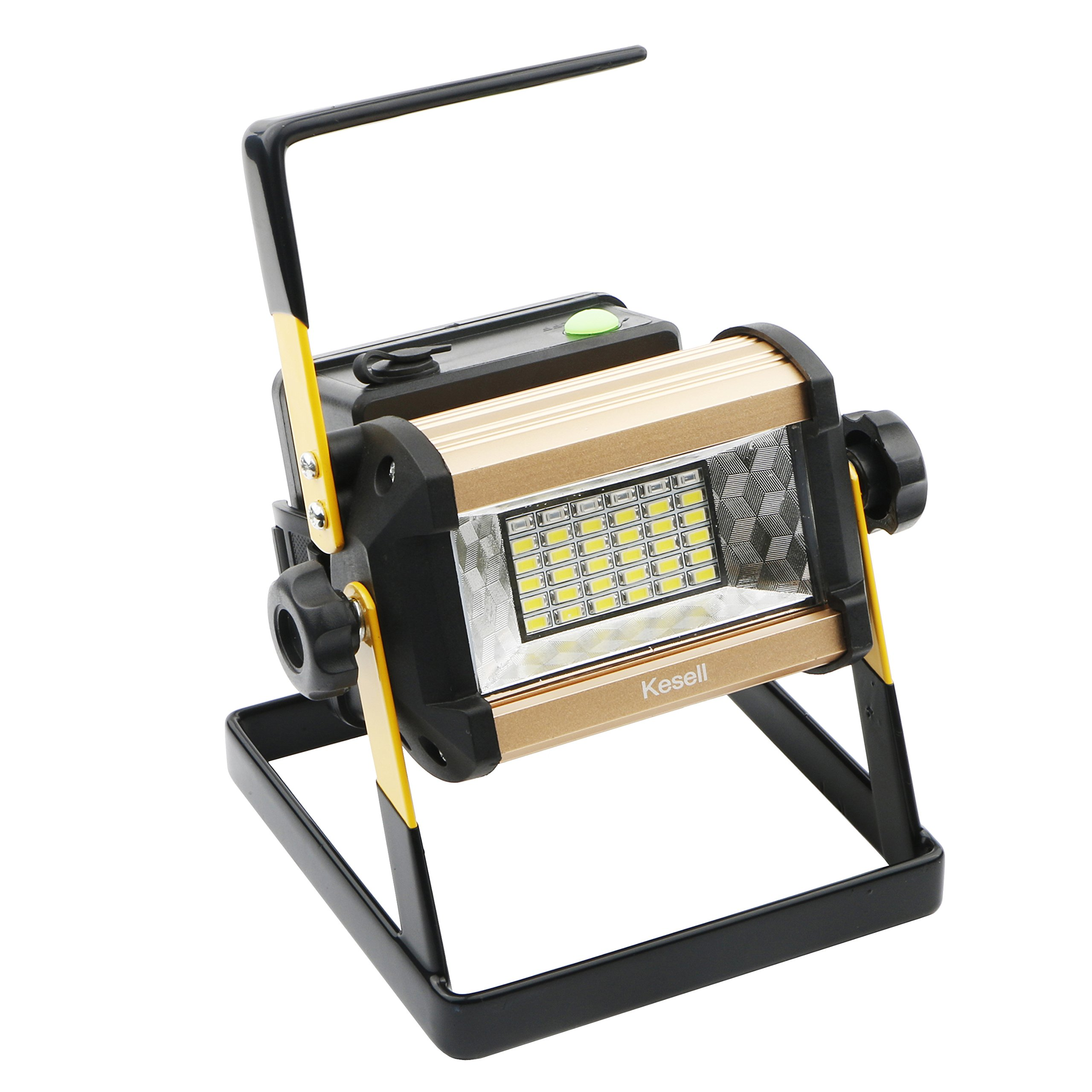 LED Spotlights / Portable Cordless 36 LED Flood Lights, 50W, 2400LM, 3 Modes Lamp, Outdoor Working Waterproof Lamp, Special SOS Mode for Camping, Fishing, Hunting