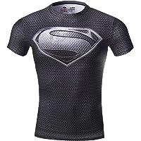 Cody Lundin Mannen Vrouwen Superhelden Compressie Hero Captain T-shirt Sweethearts Outfit voor Running Toernooi Party…