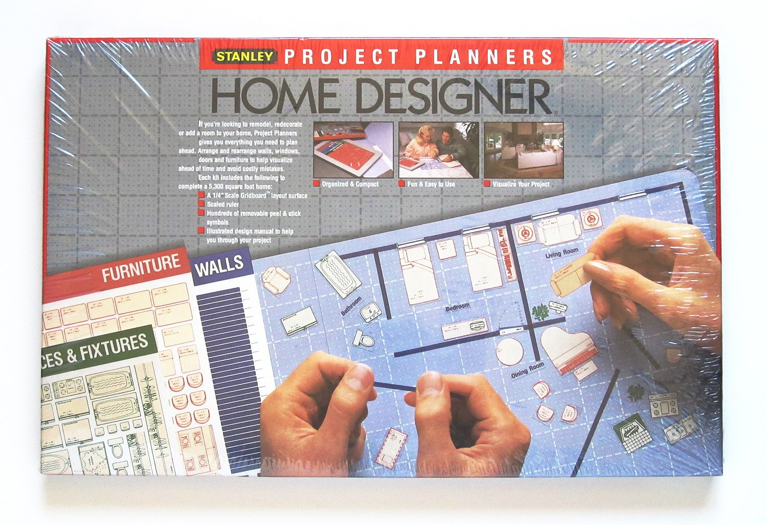 Amazon.com : Stanley Project Planner Home Designer : Other Products :  Office Products Part 71