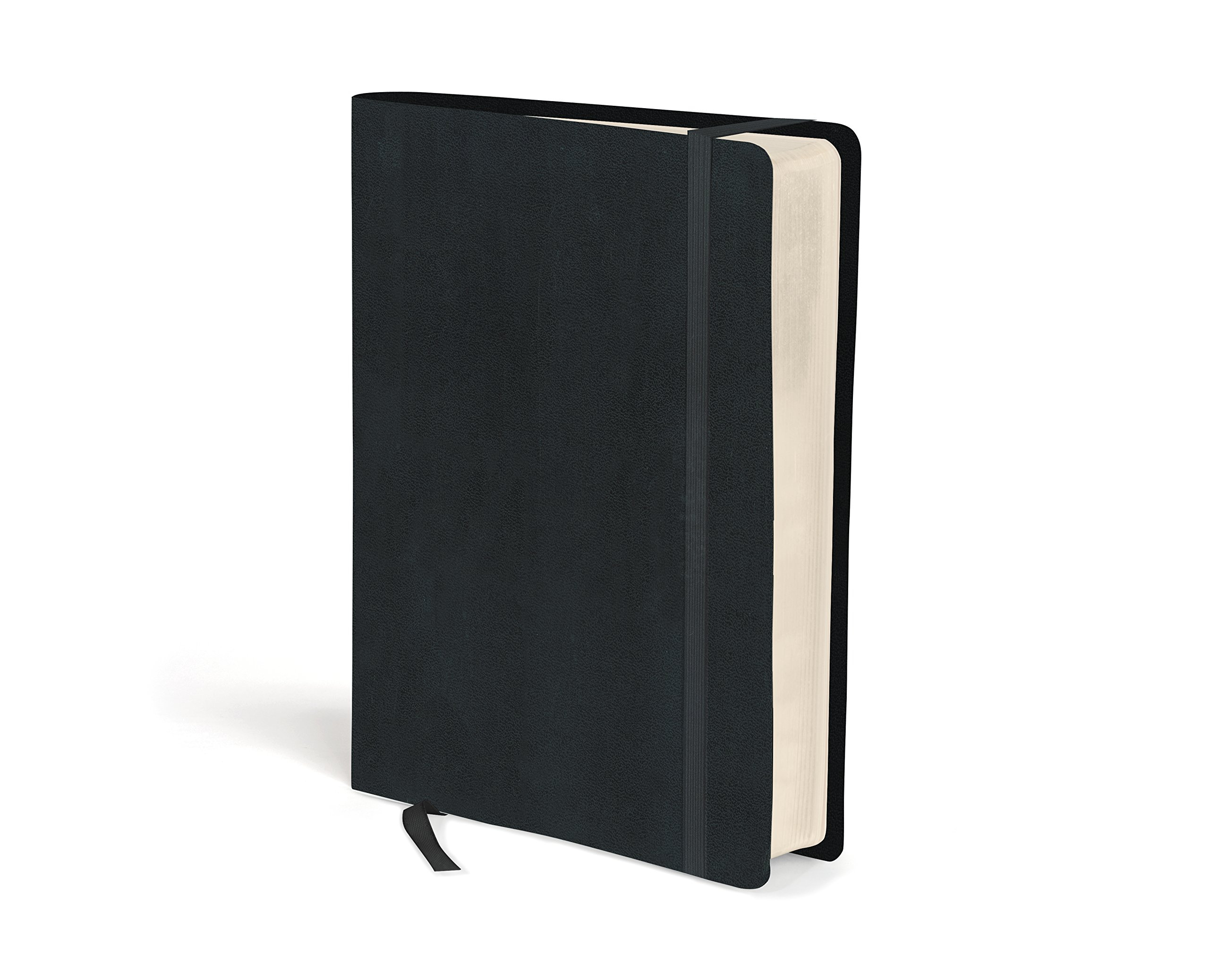 NIV, Journal the Word Bible, Hardcover, Black: Reflect, Journal, or Create Art Next to Your Favorite Verses