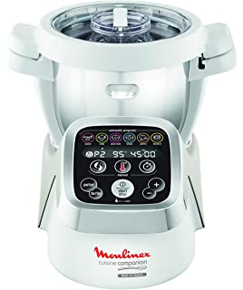 Moulinex XF380E - Bol de acero inoxidable para el robot de cocina Companion, capacidad 4.5 L, con eje extraíble para cocinar 2 recetas sin que tengas que lavar entre ellas: Amazon.es: Hogar