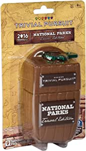 USAopoly Trivial Pursuit: National Park 100th Anniversary | Celebrating the National Park Service Centennial | 600 Trivia Questions & Fun Facts | Perfect Trivial Pursuit Travel Game for Families