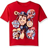 Nickelodeon Boys' Little Boys' Paw Patrol Short-Sleeved T-Shirt