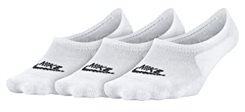Nike SX6014 100 Calcetines, Mujer, Blanco, S
