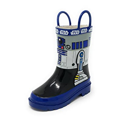 ACI International Disney Boys Star Wars R2-D2 Rain Boots