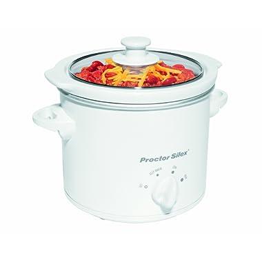 Proctor Silex 33015Y 1-1/2-Quart Round Slow Cooker