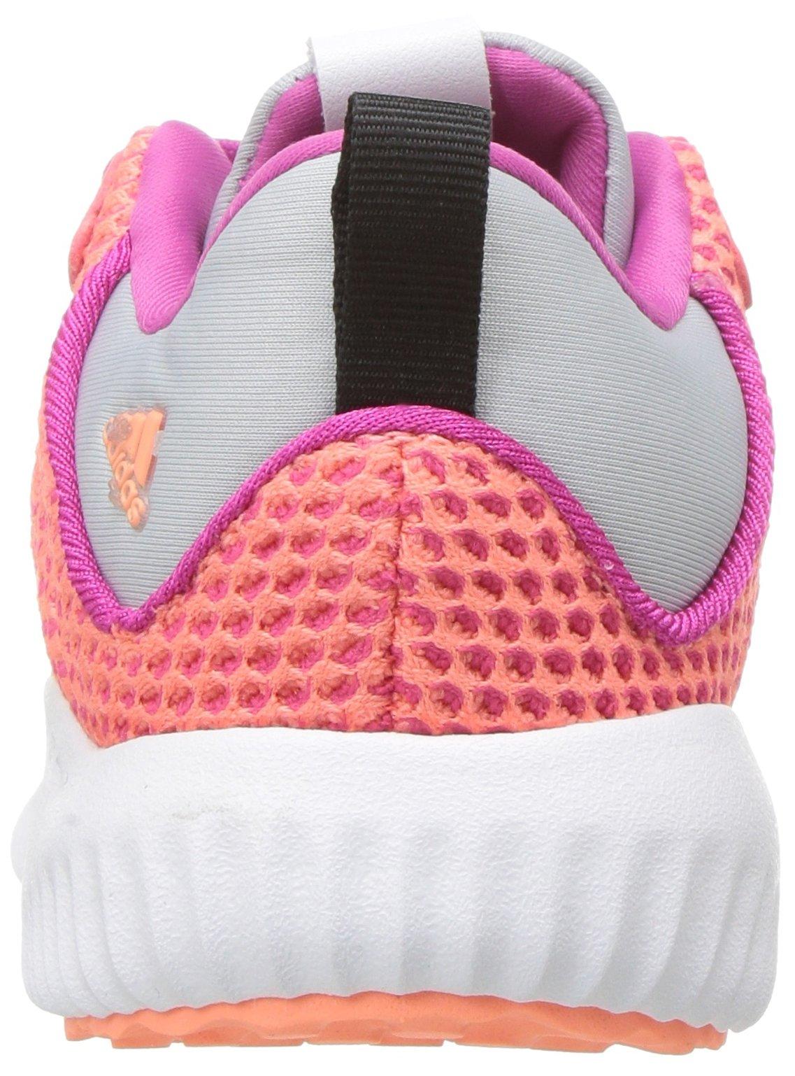 adidas Kids' Alphabounce Running Shoe, Bahia Magenta/Sun Glow/Clear Grey, 4 Medium US Toddler by adidas (Image #2)
