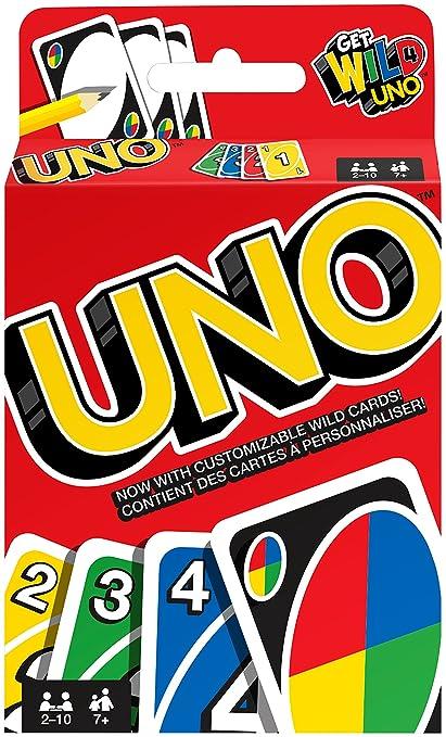 Mattel – Uno – Juego de Cartas [UK Import]