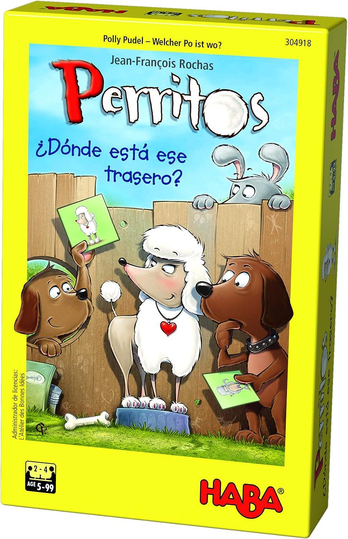 HABA- Juego de Mesa, Perritos, Multicolor (Habermass H304918): Amazon.es: Juguetes y juegos