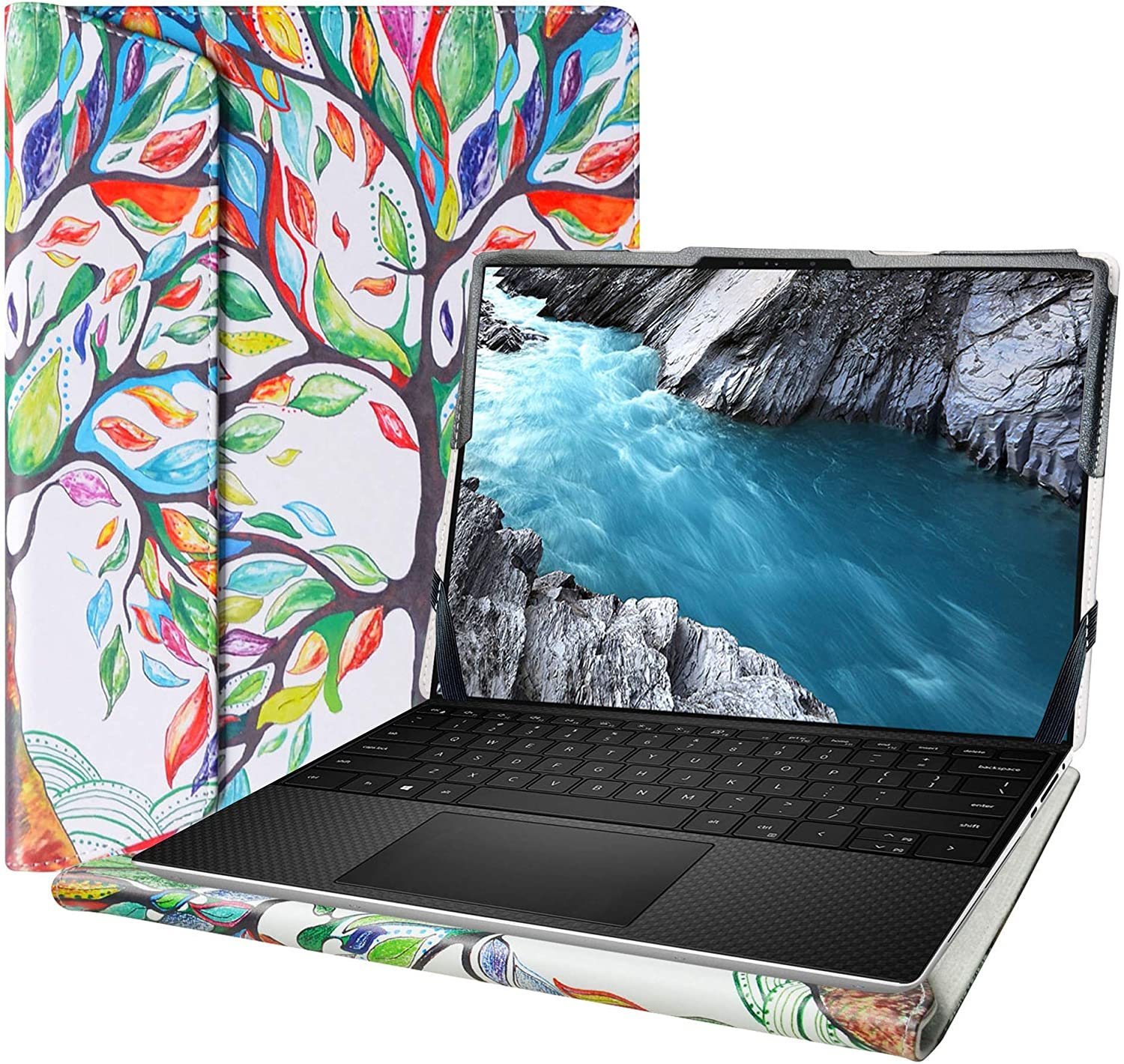 """Alapmk Protective Cover Case for 15.6"""" Dell XPS 15 9500/Dell Precision 15 5550 Series Laptop[Note:Not fit XPS 15 7590 9570 9560 9550/XPS 15 2-in-1 9575],Love Tree"""
