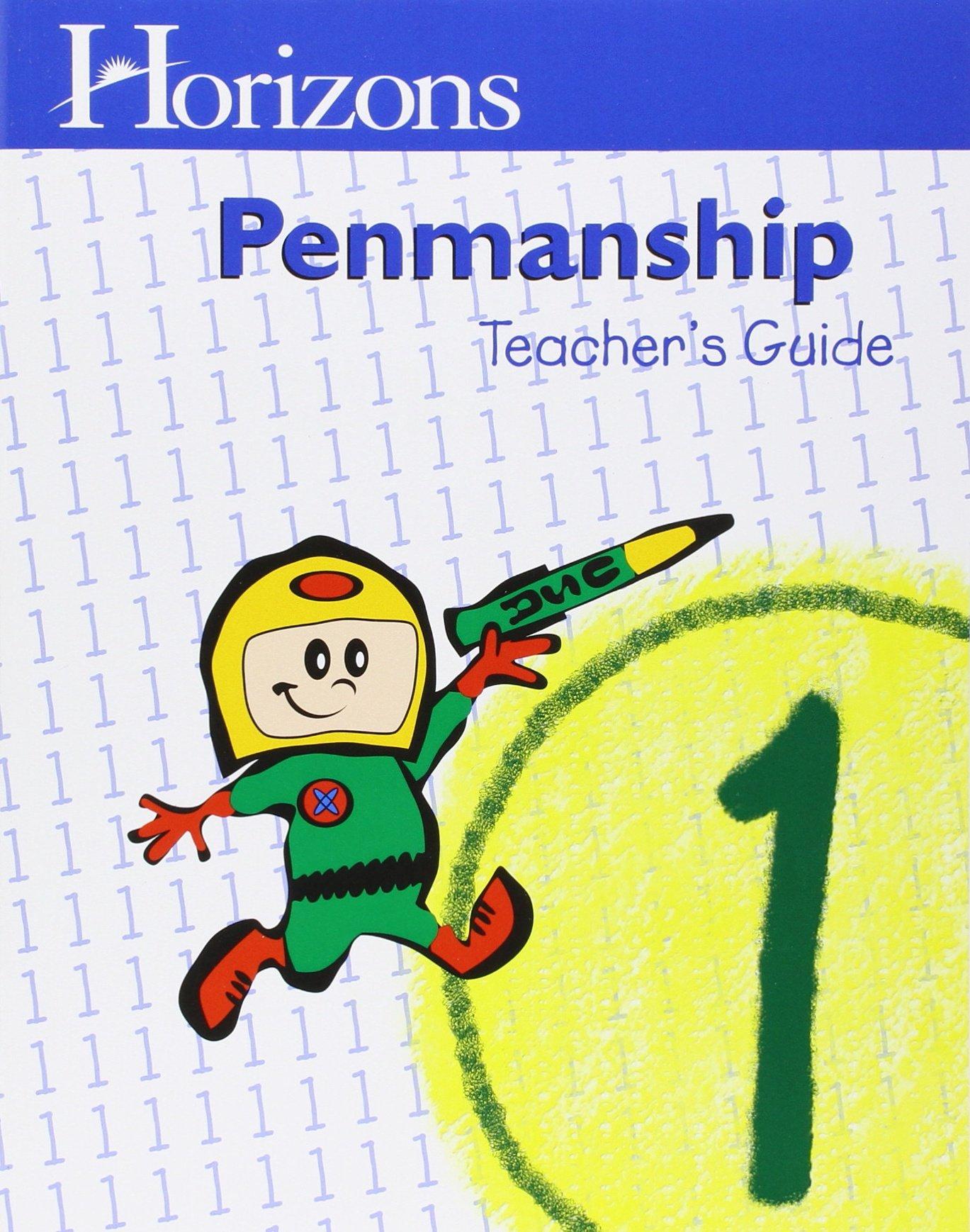 Horizons 1st Grade Penmanship Teacher's Guide pdf epub