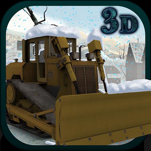 Snow Plow Truck Simulator 3D - Snow Plow
