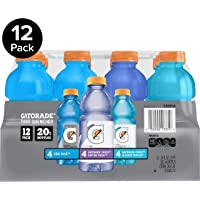 12-Pack Gatorade Frost Thirst Quencher Variety Pack Bottles, 20 Ounce
