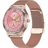KOSCHEAL Smartwatch para Mujer, Pantalla Táctil Completa Pulsera Actividad de 1.09 Pulgadas,Reloj Deportivo Mujer con Manejo