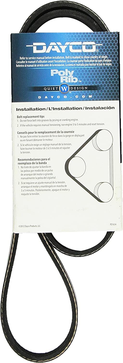 Dayco 5060423 Serpentine Belt