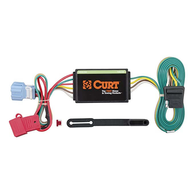 CURT 56008 Vehicle-Side Custom 4-Pin Trailer Wiring Harness for Select on