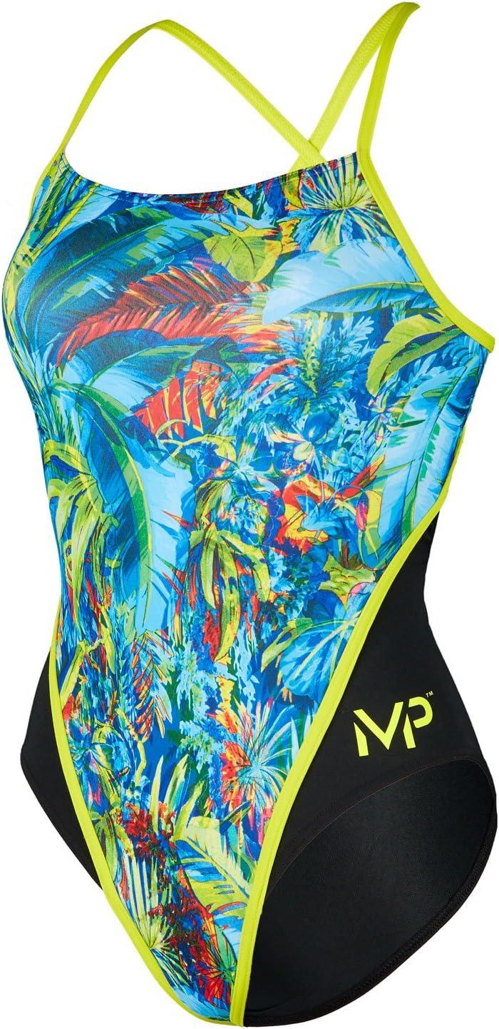 MP Michael Phelps Bañador para Mujer, Diseño de Flores