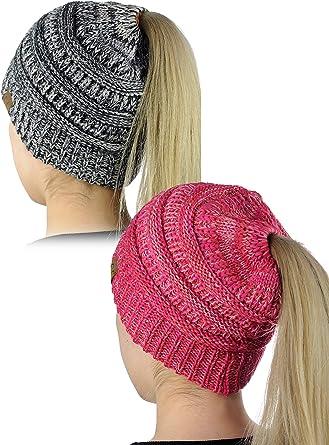Bun Beanie Messy Bun Hat Messy Bun Toque Top Knot Hat Choose a color! Ponytail Beanie Messy Bun Beanie Bun Hat Ponytail Hat