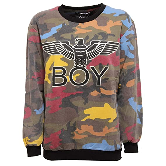 BOY LONDON 8641V Felpa Oversize Donna Delave Sweatshirt Woman: Amazon.es: Ropa y accesorios