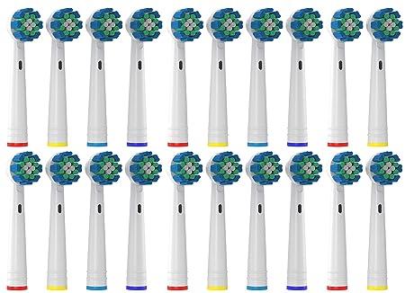 20er Aufsteckbürsten Kompatibel zu Oral B Elektrische Zahnbürsten - von Oliver James