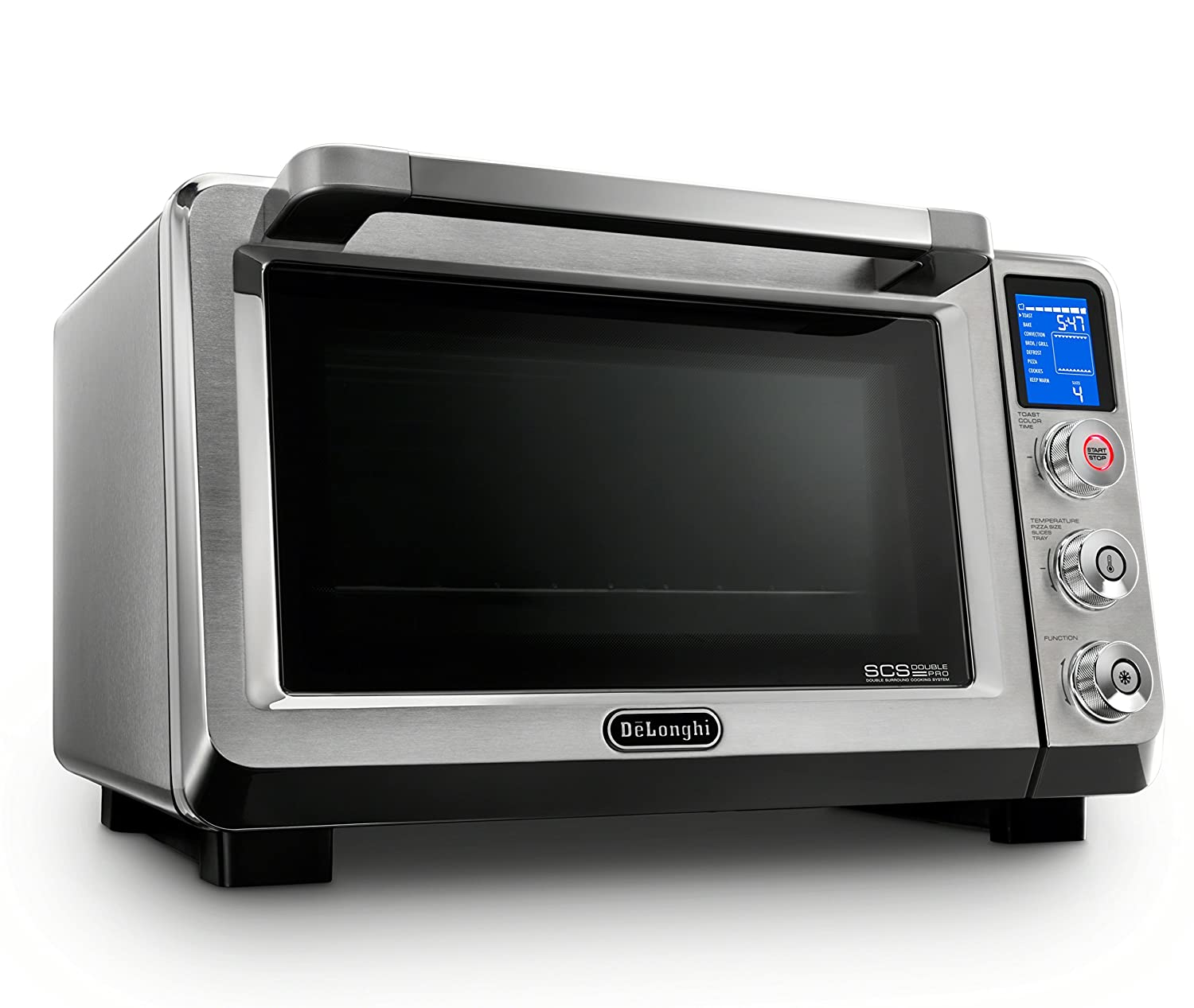 Amazon.com: DeLonghi EO241150M Livenza Stainless Steel Digital Convection  Oven: Kitchen & Dining
